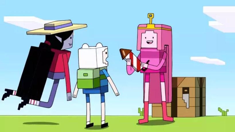 hora de aventura desenho terá episódio inspirado em minecraft