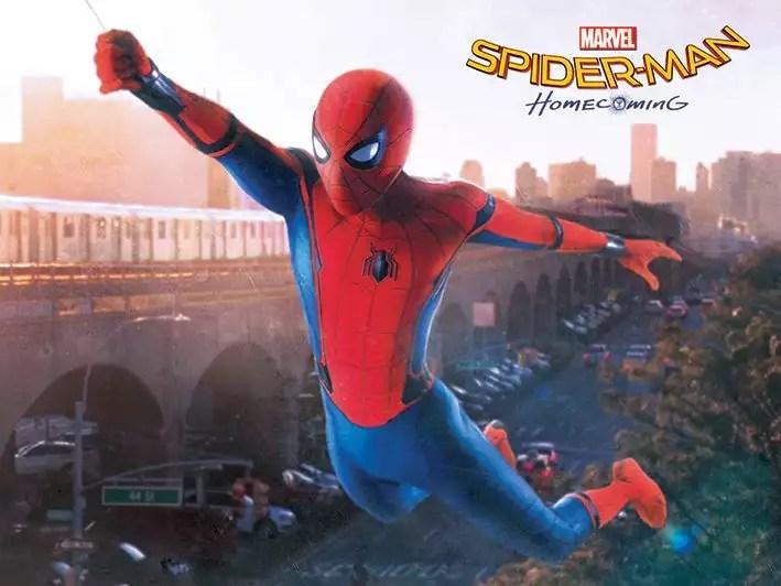 Cinema- Homem Aranha de Volta ao Lar (sem spoilers)