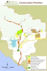 OVLC Conservation Priorities Map & Area of Interest
