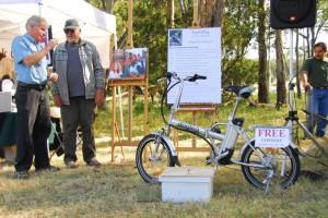 Winner of the Electric Folding Bike