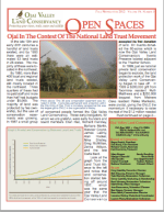 Open Spaces Newsletter – Fall 2012 (PDF)