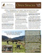 Open Spaces Newsletter – Fall 2009 (PDF)