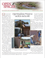 Open Spaces Newsletter-Fall 2007 (PDF)