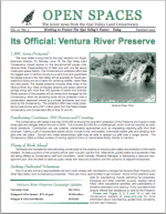 Open Spaces Newsletter – Summer 2003 (PDF)