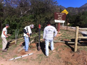 Bob's Fence of Ojai installs new fencing.