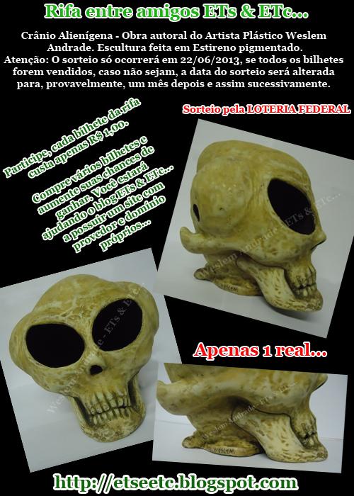 banner rifa cranio