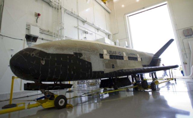 Avião espacial ultra-secreto