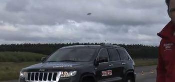 OVNI durante teste automotivo