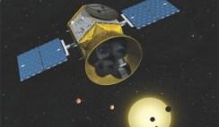satélite para procurar por vida alienígena