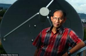 Professor Chandra Wickramasinghe.