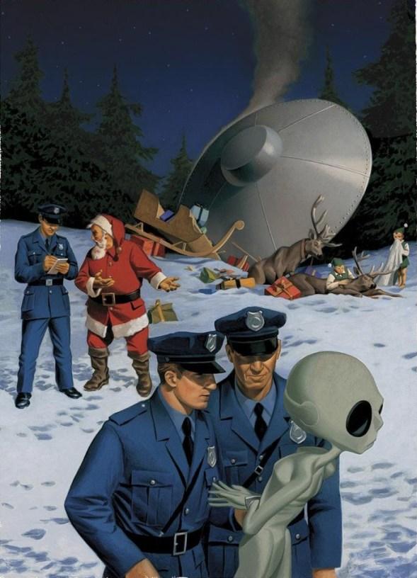 Acidente com OVNI no Natal