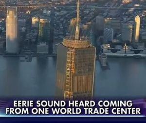 Estranho som emana do One World Trade Center