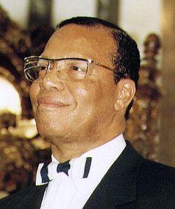 Louis Farrakhan, Jr., líder da Nação do Islã, EUA.