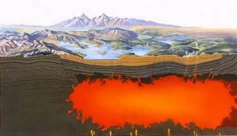 Alerta USGS: Vulcão Yellowstone passa para classificação de Alto Risco de erupção Supervulc%C3%A3o-Yellowstone