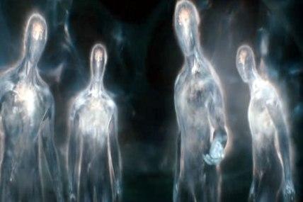 """encontro com """"seres de luz"""" em uma mina de Tenerife"""