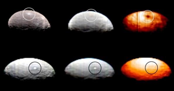 Luzes em Ceres
