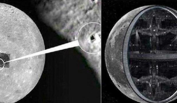 Sete irregularidades, as quais sugerem que nossa Lua é artificial