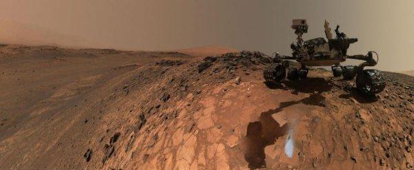 Jipe-sonda em Marte
