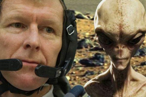 Major Tim Peake e ET