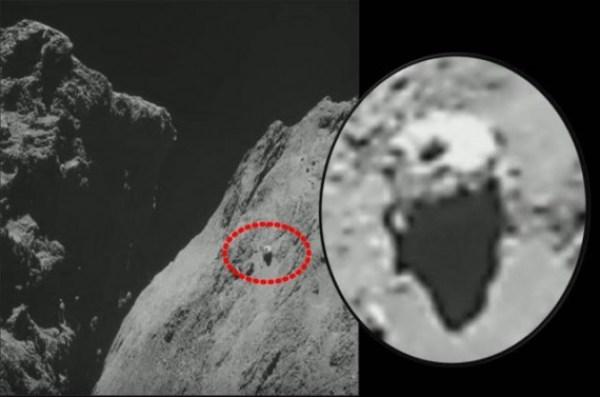 OVNI em cometa 2
