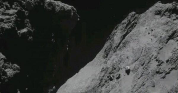 OVNI em cometa