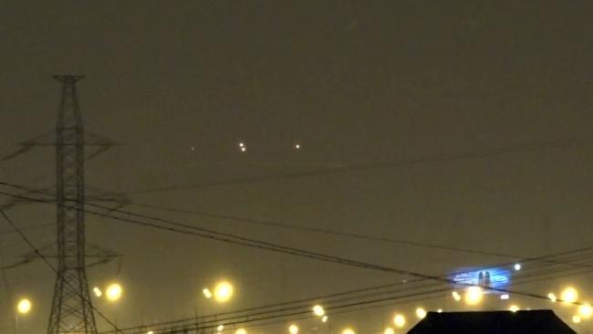 OVNIs sobre Moscou