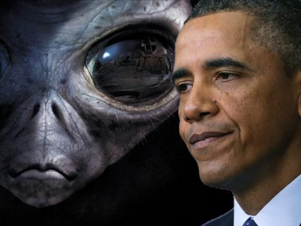 Obama e ET