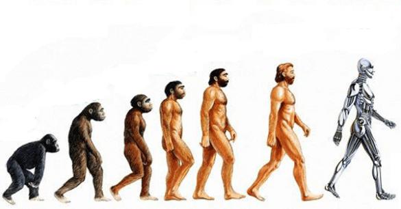 Evolução transhumana.