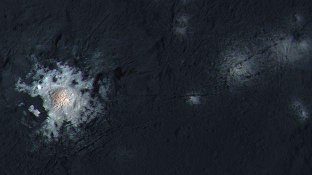 Occator em Ceres