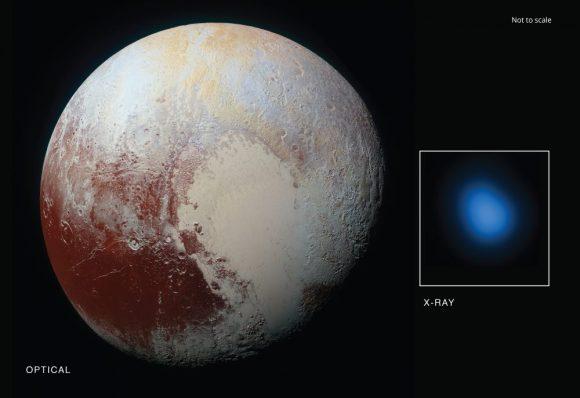 Uma imagem liberada pela NASA mostra a assinatura de raio-X detectada pelo Telescópio de raio-X Chandra.
