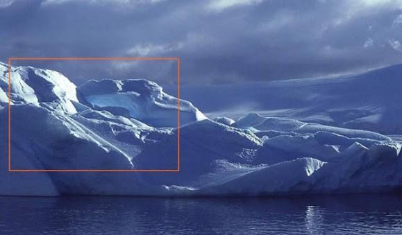 Nuvem ou neblina misteriosa numa das fotos do WikiLeaks.
