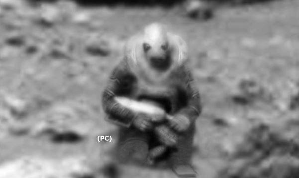 soldado em Marte