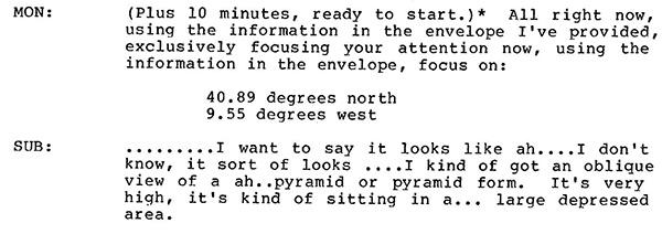 CIA usou visualização remota para saber mais sobre pirâmides de Marte e seus habitantes 3