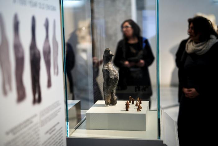 Estranha estatueta de 7.000 anos é um enigma arqueológico 1