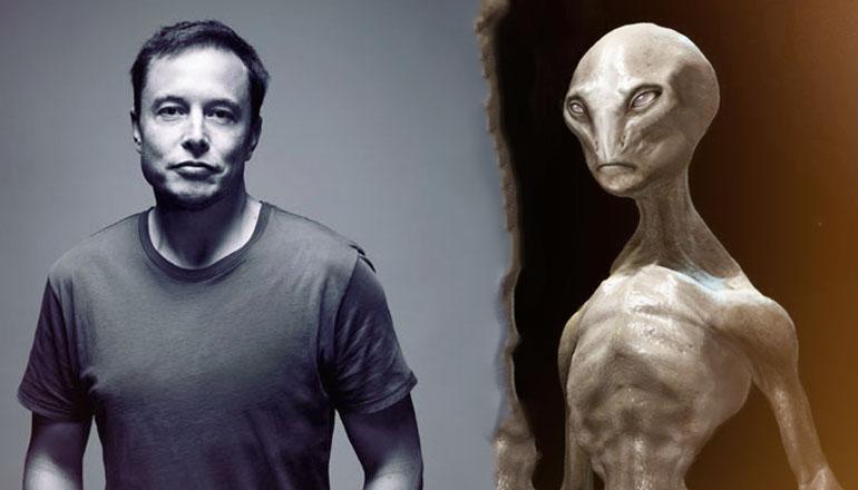 alienígenas vivem entre nós - acredita Elon Musk