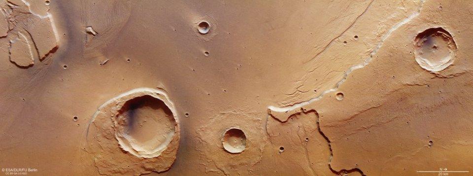 O Grande Dilúvio do planeta Marte - o que o causou? 1