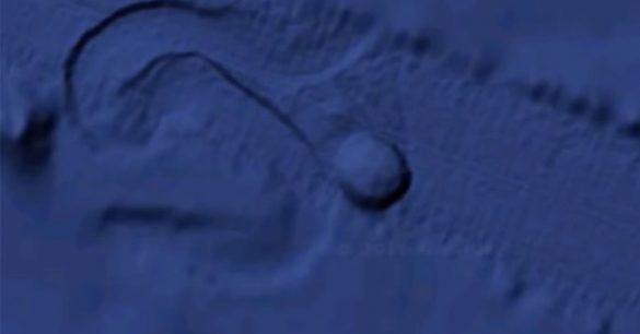 O que é este objeto se movendo no fundo do oceano? 1