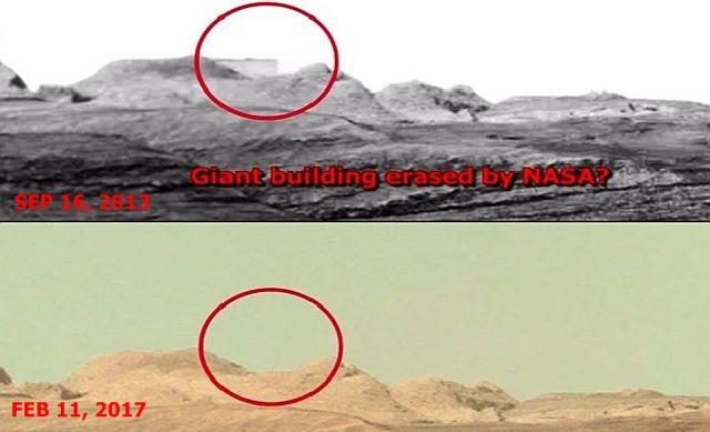 Prédio em Marte