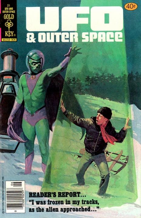 Capas fantásticas de revistas sobre OVNIs nas décadas de 60 e 70 13