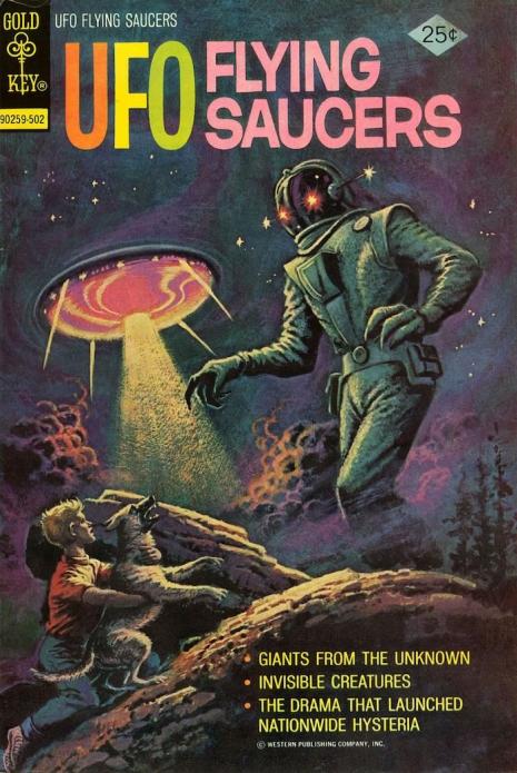 Capas fantásticas de revistas sobre OVNIs nas décadas de 60 e 70 3