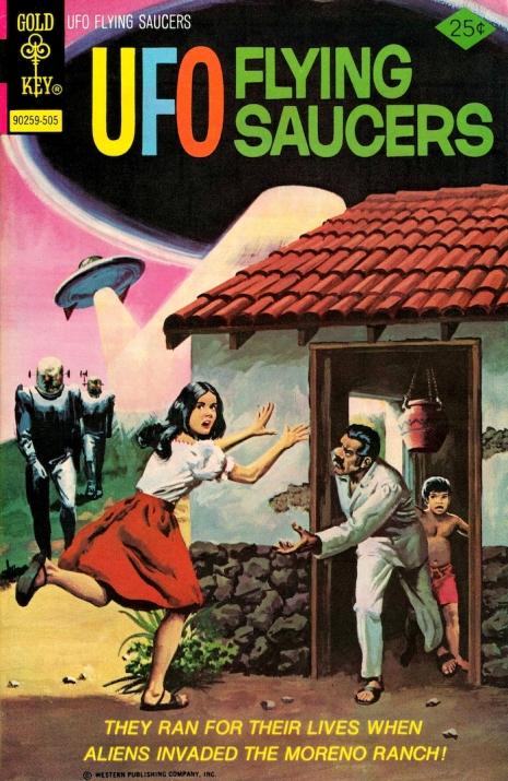 Capas fantásticas de revistas sobre OVNIs nas décadas de 60 e 70 4