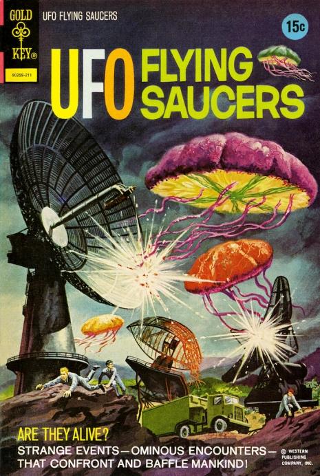 Capas fantásticas de revistas sobre OVNIs nas décadas de 60 e 70 5