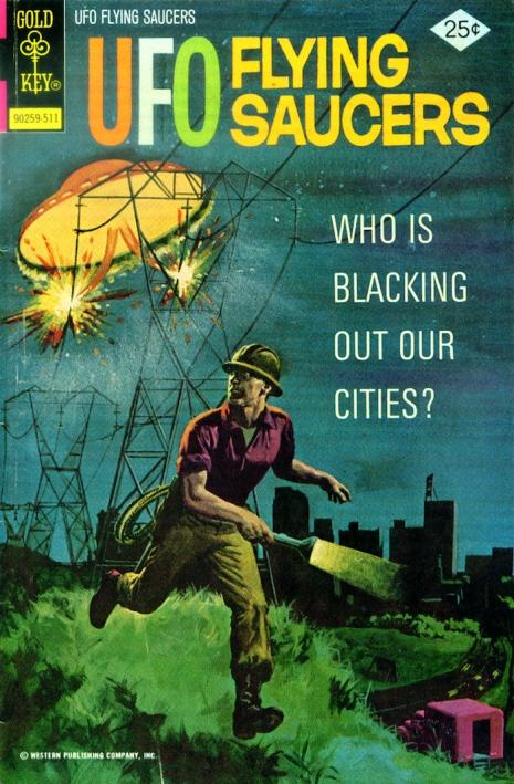 Capas fantásticas de revistas sobre OVNIs nas décadas de 60 e 70 6