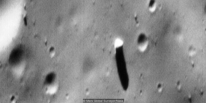 Os monólitos de Marte e de Fobos