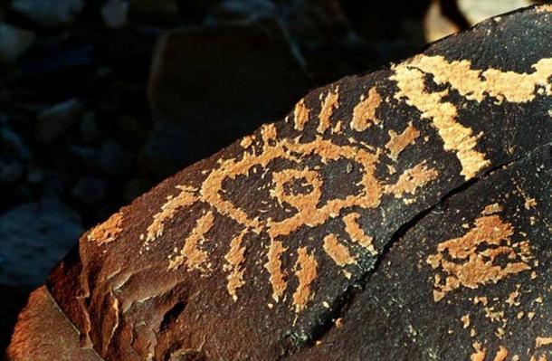 Estariam estes petróglifos em Israel e nos EUA mostrando uma antiga linguagem global 2