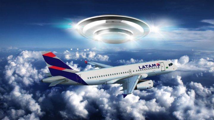 Avião da LATAM é seguido por OVNI, em rota para Curitiba 1