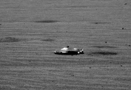 Foto de OVNI em Marte? Talvez não.