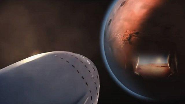 fuga para Marte