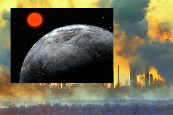 Poluição alienígena