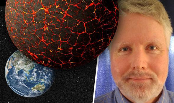 vi imagens secretas do Planeta X